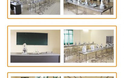 Phòng thực hành Vi sinh – Kỹ sinh trùng