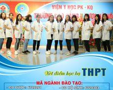 Xét tuyển học bạ THPT  2019