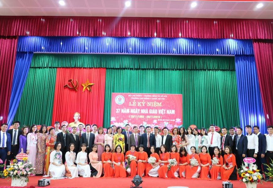 Trường Cao đẳng Y Dược Hà Nội tổ chức Kỷ niệm 37 năm ngày Nhà giáo Việt Nam (20/11/1982 – 20/11/2019)