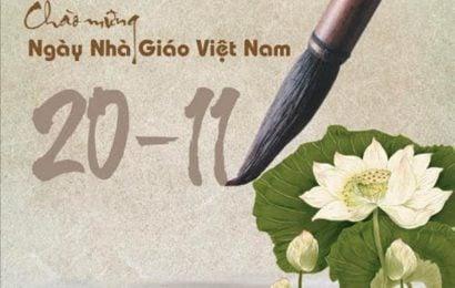 """""""Hãy cho chúng tôi cơ hội là giáo viên hạnh phúc"""" – Viết cho ngày Nhà giáo Việt Nam 20/11"""