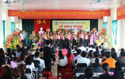 Lễ khai giảng năm học 2016 – 2017 và kỷ niệm 34 năm ngày nhà giáo Việt Nam 20/11.