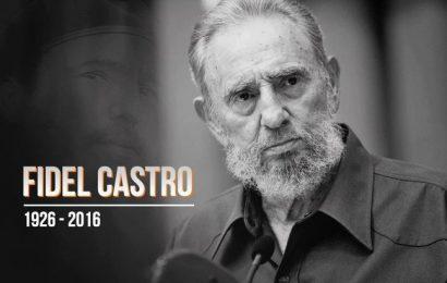 Tuổi trẻ Việt Nam tiếc thương sâu sắc trước sự ra đi của Lãnh tụ Cuba Fidel Castro