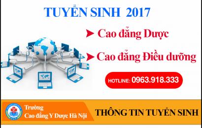 Thông tin tuyển sinh – trường CĐ Y Dược Hà Nội