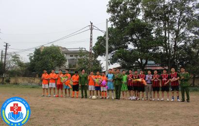 [Chuỗi hoạt động kỷ niệm 26-3] – Giao lưu bóng đá giữa Chi đoàn trường Cao đẳng Y Dược Hà Nội và Chi đoàn PC54 Bắc Ninh