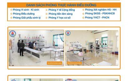 Hệ thống phòng thực hành Khoa y