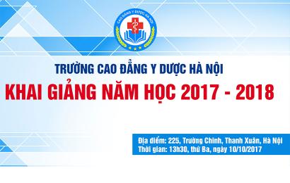 Thông báo tổ chức Khai giảng năm học mới 2017 – 2018