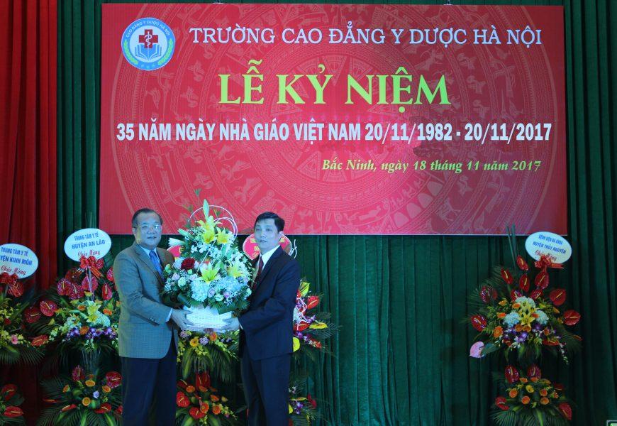 Trường Cao đẳng Y Dược Hà Nội tổ chức Kỷ niệm 35 năm ngày nhà giáo Việt Nam (20/11/1982 – 20/11/2017)