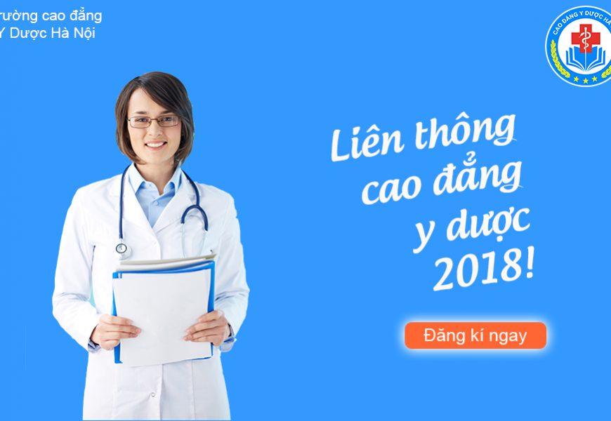 THÔNG BÁO TUYỂN SINH LIÊN THÔNG CAO ĐẲNG Y DƯỢC 2018