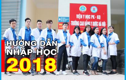 Hướng dẫn nhập học cho tân sinh viên chính quy Khóa K18 – 2018