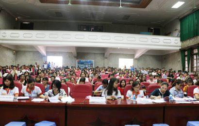 Trường Cao đẳng Y Dược Hà Nội chào đón tân Sinh viên K18