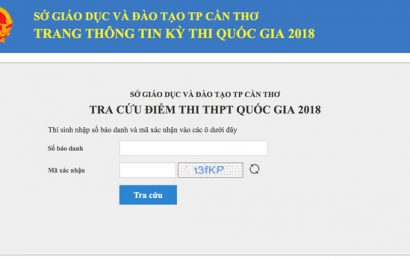Công bố điểm thi THPT quốc gia 2018: Thí sinh các tỉnh, thành đã có thể xem điểm
