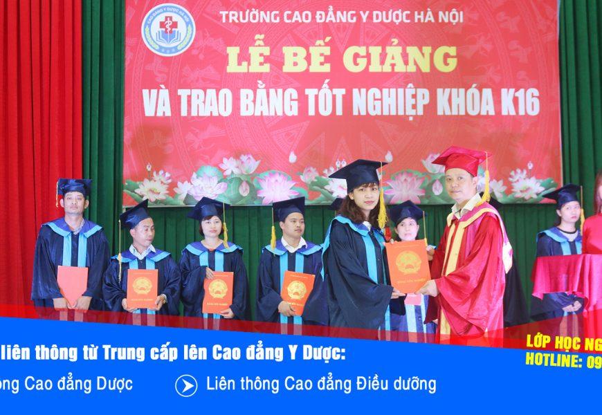 TUYỂN SINH LIÊN THÔNG CAO ĐẲNG Y DƯỢC 2018