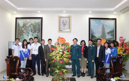 Trường Cao đẳng Y Dược Hà Nội chúc mừng ngày thành lập Quân đội Nhân dân Việt Nam