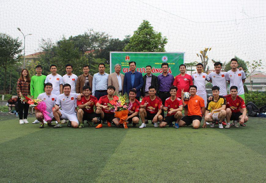 Giao lưu bóng đá chào mừng ngày 26-3