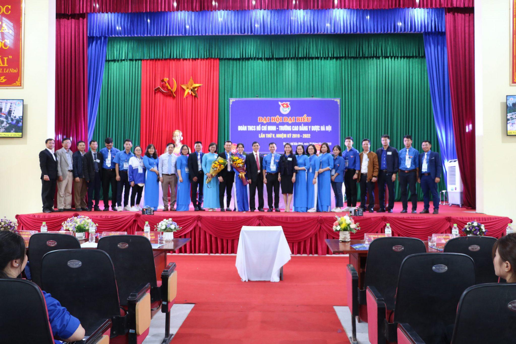 Đại hội Đại biểu Đoàn TNCS Hồ Chí Minh Trường Cao đẳng Y Dược Hà Nội lần thứ V, nhiệm kỳ 2019-2022