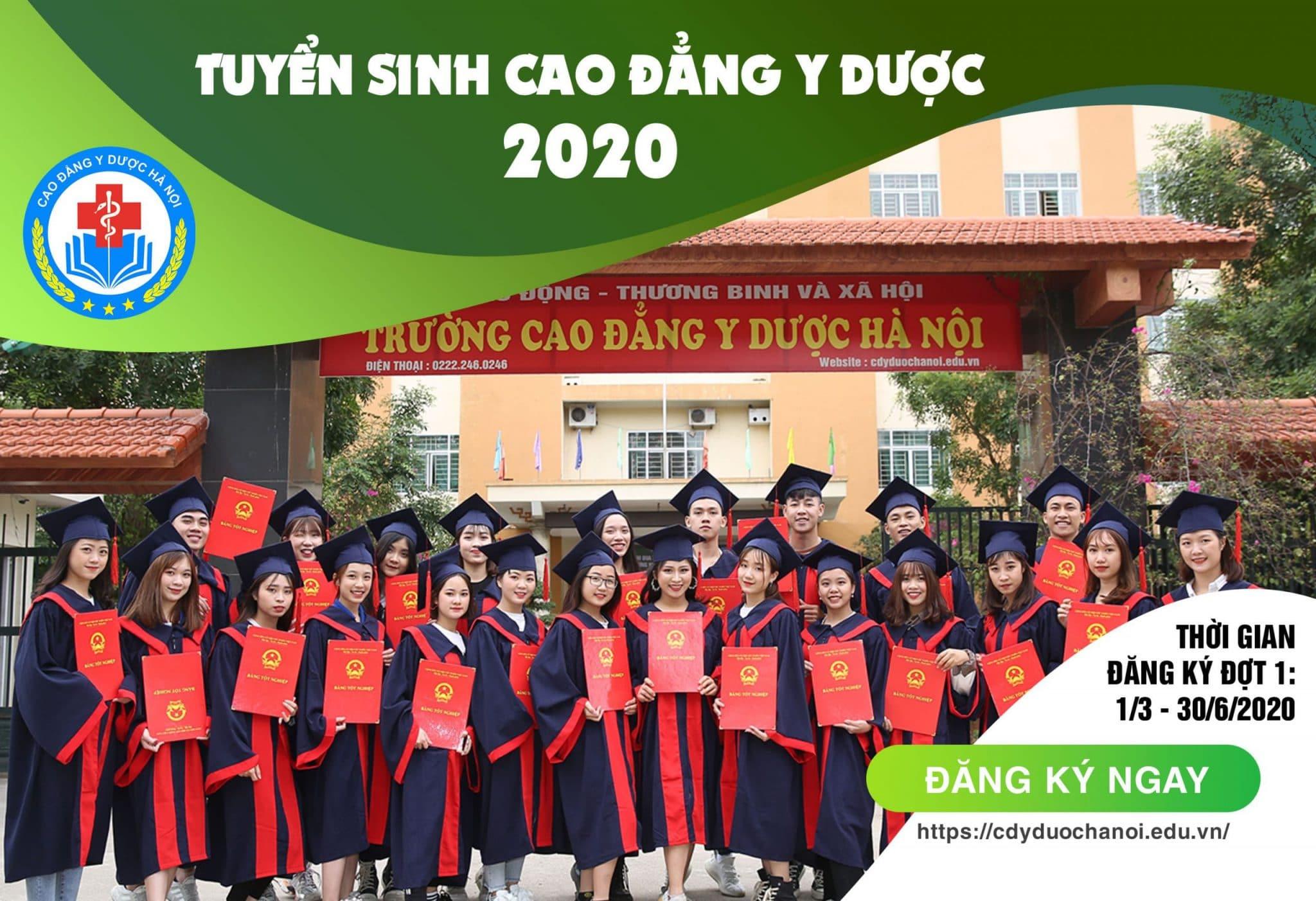 Thông tin tuyển sinh cao đẳng y dược 2020