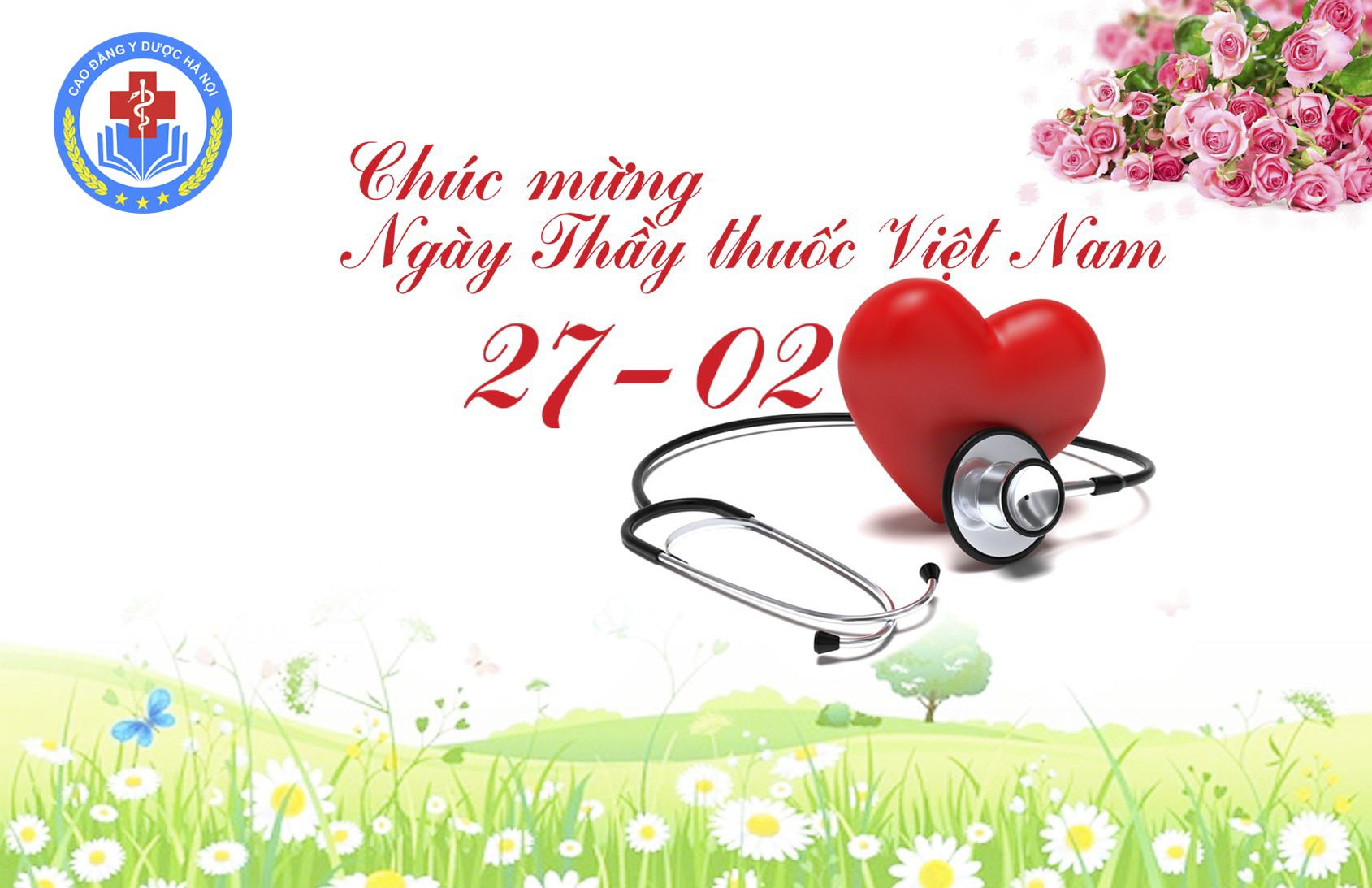 Chúc mừng ngày Thầy thuốc Việt nam 27-2, Trường Cao đẳng Y Dược Hà Nội